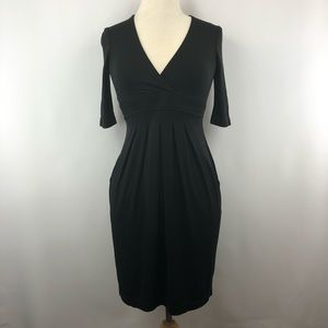 BCGBMaxaxria Black Career Dress with Pockets XS